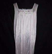 Vintage Plus Size Nightgown Lilac Purple Size 2X Shannon Lee Nylon Gown ILGWU