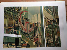 C J Yao Lithograph Reflections 1981 124/125 Signed