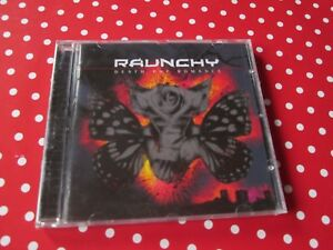 RAUNCHY Death Pop Romance CD INDUSTRIAL METAL IN FLAMES