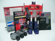 K1771632 OPTIMUS PRIME BLOATED VERSION G1 VINTAGE TRANSFORMERS 100% COMPLETE