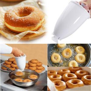 DIY Doughnut Donut Maker Machine Manual Dispenser Kitchen Utensil Plastic Tool G
