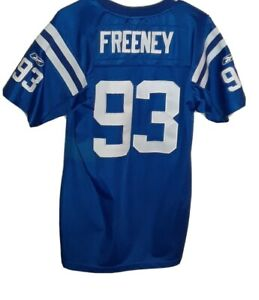 NFL Indianapolis Colts Stitched #93 Dwight Freeney Replica Jersey! Youth(18/20).