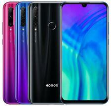 "Huawei Honor 20 Lite HRY-LX1T 128GB (Desbloqueado en Fábrica) 6.21"" Negro Azul Rojo"