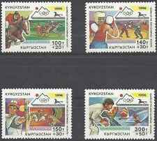 Timbres Sports JO Kirghizstan 93/6 ** année 1996 lot 15378