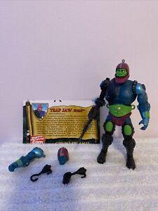 MOTUC Trap Jaw He-Man Mattel Loose Complete MOTU