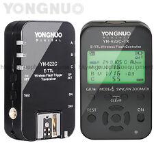 Yongnuo YN-622C + YN-622C-TX Kit Wireless Flash Trigger Transceiver Controller