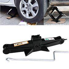 Hand Screw Scissor Lift Jack Universal 4410 LB Capacity Car Auto SUV Save Effort