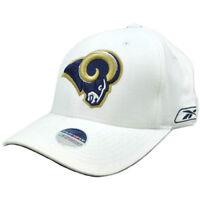 NFL St Saint Louis Rams Reebok Flex Fit One Size Curved Bill Football Hat Cap