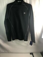 Nwt Champion Authentic Activewear Men Long Sleeve Double Dry Shirt size Medium