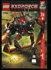 LEGO -- 7702 -  Nur Bauanleitung -- EXOFORCE --