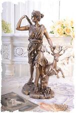 Frauenfigur SKULPTUR DIANA Göttin ARTEMIS SAMMLERSTÜCK ANTIKE Figur Mythologie