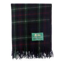 Border Tweeds 100%Wool Scottish Tartan Blankets /Throws/Rug-Mackenzie
