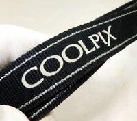 Nikon Coolpix Shoulder Neck Strap Camera Genuine OEM Black-Grey