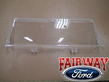 92 thru 97 F-250 F-350 Super Duty OEM Genuine Ford Gauge Dash Cluster Lens Cover