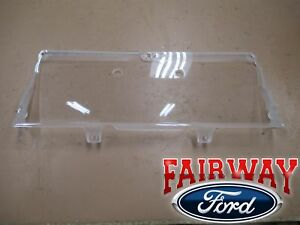 92 thru 97 F-250 F-350 Super Duty OEM Genuine Ford Gauge Dash Cluster Lens Cover