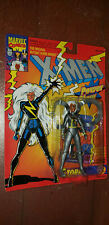 X-Men STORM Silver on Orange Card Marvel Comics Action Figure MOC 1994