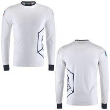 Kappa T-Shirts & Top FISI BLU SNOW FLAKE Uomo Aroundsport T-Shirt