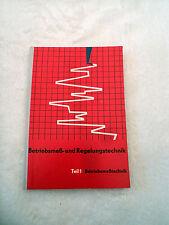 Betriebsmeß - und Regelungstechnik VEB Technik Fachbuch Elektronik