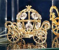 New Disney Parks Arribas Cinderella Coach Spectra Crystal Figure Figurine