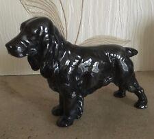 ROYAL DOULTON DOG COCKER SPANIEL LUCKY STAR OF WARE MODEL HN1020 BLACK  PERFECT