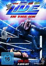 WWE Live In The UK April 2013 2x DVD DEUTSCHE VERKAUFSVERSION