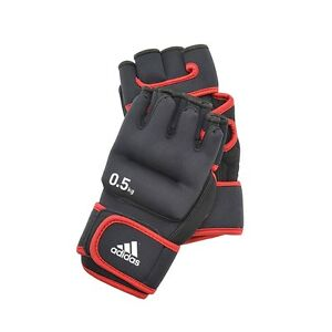 Adidas Weighted Gloves 0.5kg Hand Weights Shadow Boxing Aerobics Training