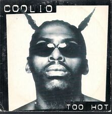 CD SINGLE 2 TITRES--COOLIO--TOO HOT--1995