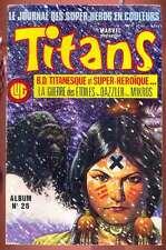 TITANS album 26 (n°76 à 78) LUG La guerre des étoiles Star Wars Mikros 1985