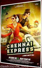 "CHENNAI EXPRESS (2013)  BOLLYWOOD POSTER # 3 SHAHRUKH KHAN 27 ""X 39"""