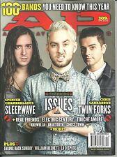 AP Alternative Press 309.1 & 309.2 April 2014 Electric Century Twin Forks Both !