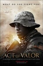 POSTER ACT OF VALOR MIKE MCCOY NAVY SEALS DVD LOCANDINA MOVIE SOLDIER FOTO WAR 2