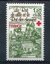 FRANCE 1978, timbre 2025, CROIX ROUGE, RAT de ville et des champs, neuf**
