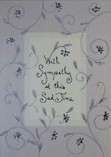 Sympathy Card - Turnowsky Art -  with Cream Envelope