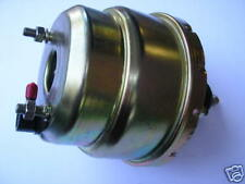 "POWER BRAKE BOOSTER  8"" DUAL DIAPHRAGM PLAIN suit HOT ROD, FORD, GM, HOLDEN"