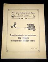 Brochure Westinghouse Freni e segnali - Torino 1930 ca.