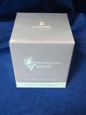 Lladro #1020006 Mediterranean Beach Scented Candles Brand New In Box Retired