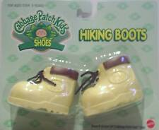 Cabbage Patch Kids Doll Shoes - CPK Yellow Hiking Boots  Shoes - NEW