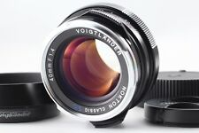 【Unused】 Voigtlander Nokton Classic SC.VH 40mm f/1.4/ Hood LH-6  from Japan 1861