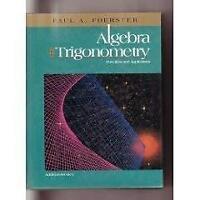 Algebra And Trigonometry  - by Foerster