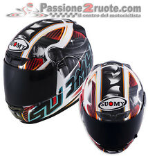 Helmet Suomy Apex Pike Red casque moto integral helm size M
