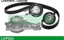 LUCAS Bomba de agua + kit correa distribución CITROEN XSARA PEUGEOT 206 LKP024