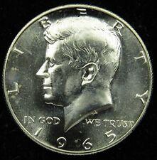 1965 SMS Special Mint Set 40% Silver Kennedy Half Dollar (B03)