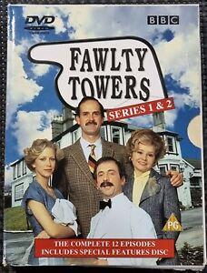 FAWLTY TOWERS DVD SERIES 1 & 2 (Reg 2 & 4 Box Set)