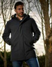 Cappotti e giacche da uomo impermeabile con cappuccio