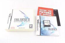 Nintendo DS DSi FINAL FANTASY XII Revenant Wings PAL Game