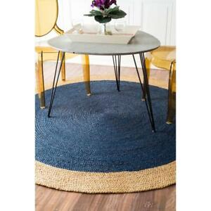 Modern Plain Area Rug Contemporary Large Small Round Carpet Design Style Free