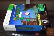 Terraria Collector's Edition #19702 (Xbox 360 2013) FACTORY SEALED! - RARE! EX!