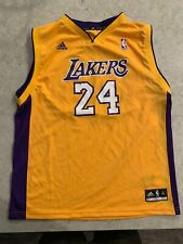 Adidas Kobe Bryant Jersey Yellow Youth XL Read Description