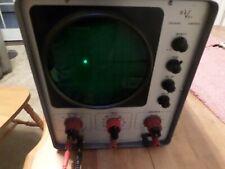 Vintage Oscilloscope Vacuum Tube Devry Institute Electronic Radio Frequency Test