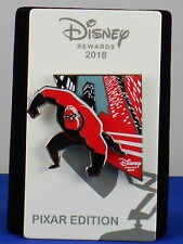 Disney Visa Rewards Card 2018 PIXAR Incredibles 2 MR. INCREDIBLE Trading Pin